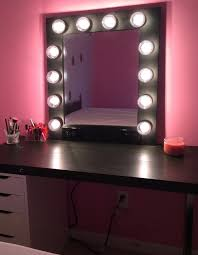 chic dresser and mirror ikea makeup table with vanity lights in idea 23