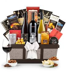 luxury wine baskets silver oak napa valley cabernet sauvignon basket