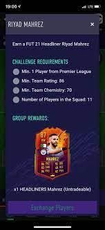 Headliner Mahrez SBC : FIFA