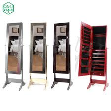 luxury wooden furniture storage. new luxury large wooden standing jewelry armoire mirrored bedroom vanity furniture storage for makeup organizer d