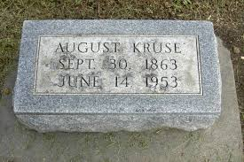 August Kruse (1863-1953) - Find A Grave Memorial