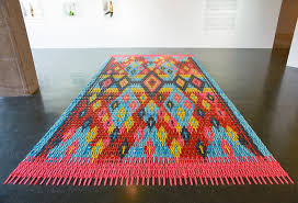 Colorful Carpet Made From Thousands of Digital Watches by Heidi Voet |  Inhabitat - Green Design, Innovation, Architecture, Green Building
