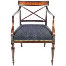 office chair vintage. english george iii regency gillows mahogany desk chair in black horsehair office vintage