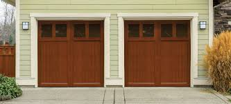 our most economical stain grade wood carriage door