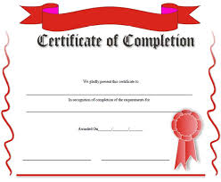 School Certificates Template 19 Certificate Of Completion Templates Certificate Of