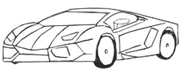cool cars drawings easy. Wonderful Easy Sports Car Drawing Step 5 And Cool Cars Drawings Easy T