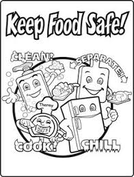 Small Picture Emejing Food Safety Coloring Pages Photos Coloring Page Design