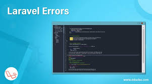 laravel errors how does laravel error