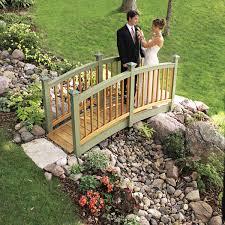 Garden Bridge Design And Construction Classic Arched Backyard Bridge Family Handyman
