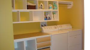 Simple Laundry Room Makeovers Laundry Room Tables And Cabinets