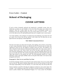 Examples Of Cover Letters For Resume Examples Of Cover Letters For