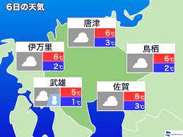 天気 予報 唐津