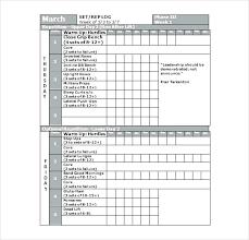 12 Team Schedule Template Incloude Info