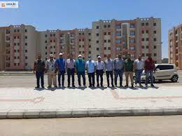 """The completion of the implementation of 2432 housing units in the """"Housing  for All Egyptians"""""""