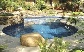natural looking in ground pools. Legacy Edition Mountain Natural Vinyl Liner Pool Looking In Ground Pools C