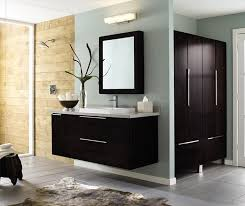 wall mounted bathroom vanity. Wall-mounted Bathroom Vanity In Dark Cherry By Decora Cabinetry Wall Mounted G