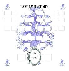 Download Family Tree Template