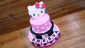Kue Ulang Tahun Hello Kitty Terbaru By Lenscake Kdi Youtube