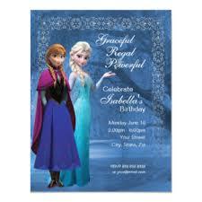 Frozen Birthday Invitations With Photo Custom Invitations