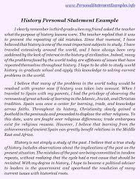 Personal Statement Essay Example Graduate School Personal