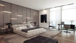 Small Picture Unique Wall Covering Ideas Gray Gloss Headboard Wall Design Modern