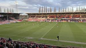 Wrexham was founded in 1864, making it the oldest in wales. Wrexham Afc Wales Racecourse Ground Stadium Guide Welsh Grounds Football Stadiums Co Uk