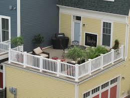 Balcony Over Garage Design Deck Over Garage Garage Roof Roof Balcony Rooftop Deck