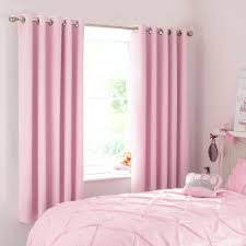 pink blackout eyelet curtains bedroom walls red