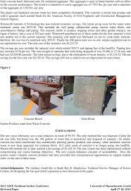 Designing A Zero Waste Concrete Mix Testing Lab Pdf