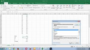 Levey Jennings Chart In Excel How To Prepare Levey Jennings Contorl Chart In Excel 2016