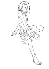 Small Picture Naruto Coloring Pages Sakura Haruno Cartoon Coloring pages of