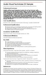 Audio Specialist Sample Resume Impressive Contract Specialist Resume Sample Colbroco