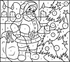 Color pictures of santa claus, reindeer, christmas trees, festive ornaments and more! Christmas Coloring Pages