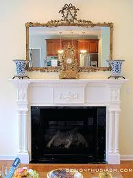 French Country Fireplace Mantels Holiday Home Tour Part 3 French Country Fireplace