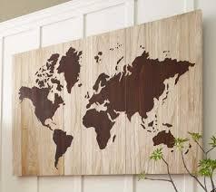 World Map Home Decor Diy Home Decor Wall Art Diy Wooden World Map Art Diy Wall Art