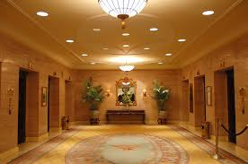 Hotel lobby lighting Architectural Hotel Lobby With Recessed Lights Overhead Fixture And Elevators Pinterest Maintenance Lighting Needs For Retrofits From topbulb
