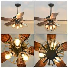 rustic ceiling fans. Image Of: Amazing Rustic Ceiling Fans With Lights