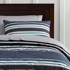marvelous design inspiration navy stripe comforter set sideline value with sheets pillowcase sham pbteen