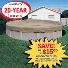 above ground pool winter covers. Sure-Strength Protector Winter Pool Cover 15 Ft Round Above Ground Pool Winter Covers