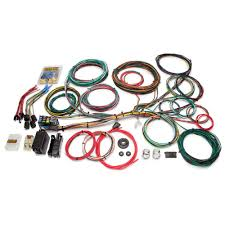 painless performance 20103 mustang universal muscle car wiring 1971 Chevy Truck Wiring Diagram painless performance wiring harness ford universal 21 circuit 1966 1976