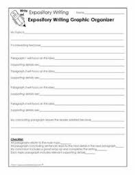 graphic organizers for teaching writing expository literacy this graphic organizer is an excellent guide that will help you create your expository essay step expository writinginformational
