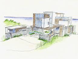 Villa Sketch Design Gallery Of Ani Villas Skolnick Architecture Design