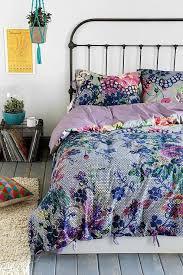 multicolored fl pattern reversible duvet cover