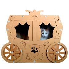Cardboard House For Cats Your Box Fort Has Nothing On These Fancy Cardboard Cat Houses