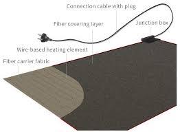 under desk foot warmer home decor heated floor mats installing