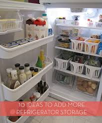 roundup 10 ways to gain more storage in your refrigerator