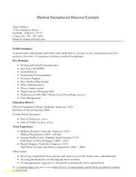 Resume Examples For Receptionist Awesome Best Receptionist Resumes 48 Resume Templates Samples Images On