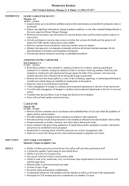 Sample Resume For Caregiver Caregiver Resume Samples Velvet Jobs 21