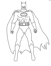 Batman coloring pages are particularly popular among boys as these activity sheets allow them to go on a fantastic adventure to some unknown land where they can stand beside their favorite hero to fight against evil and save the day. Batman Superheroes Printable Coloring Pages