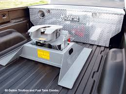 Auxiliary Toolbox & Fuel Tanks Combos